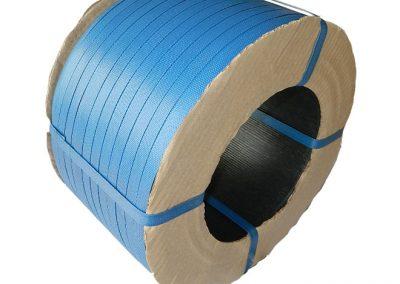 สายรัดพลาสติกPP BAND สีน้ำเงิน (สำหรับเครื่องกึ่งอัตโนมัติ)