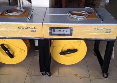 เครื่องรัดกล่อง ยี้ห้อ Strapack JK2 เครื่องรัดกล่อง (Strapping Machine)  เครื่องรัดกล่องนำเข้า เครื่องรัดกล่องมือ1 เครื่องรัดกล่องมื2 เครื่องรัดกล่อจีน เครื่องรัดกล่องไต้หวัน บริษัทธนทัศน์ แพคเกจ แอนด์ เซอร์วิส TNTSERVICE