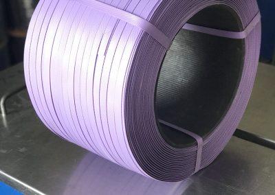 สายรัดพลาสติกPP BAND สีม่วง (สำหรับเครื่องกึ่งอัตโนมัติ)