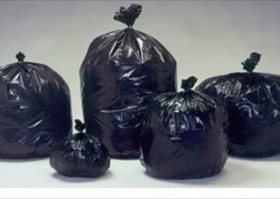 ถุงขยะสีดำ (ถุงพลาสติกดำ)