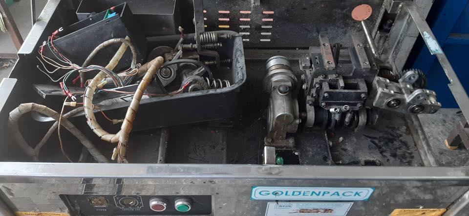 บริการซ่อมเครื่องแพ็คกล่องสแตนเลส