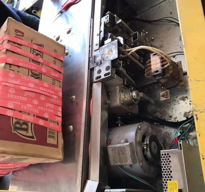#ช่างซ่อมเครื่องรัดกล่องอัตโนมัติ? #บริการรัดซ่อมเ…