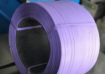 สายรัดพลาสติก สายรัดPP BAND สายรัดสีม่วง