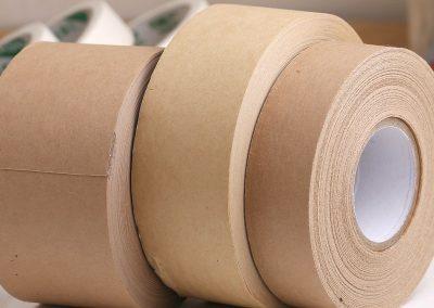 เทปรัดยี่ห้อ UCHIDA ชนิดกระดาษสีน้ำตาล