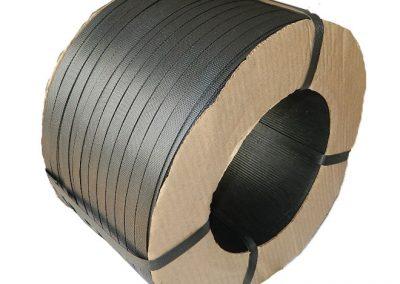 สายรัดพลาสติกPP BAND สีดำ (สำหรับเครื่องกึ่งอัตโนมัติ)