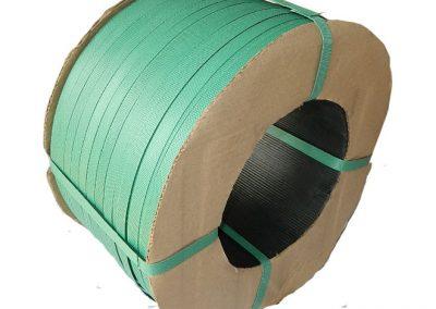 สายรัดพลาสติกPP BAND สีเขียว (สำหรับเครื่องกึ่งอัตโนมัติ)
